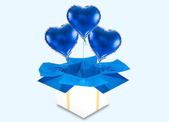 Balony foliowe niebieskie
