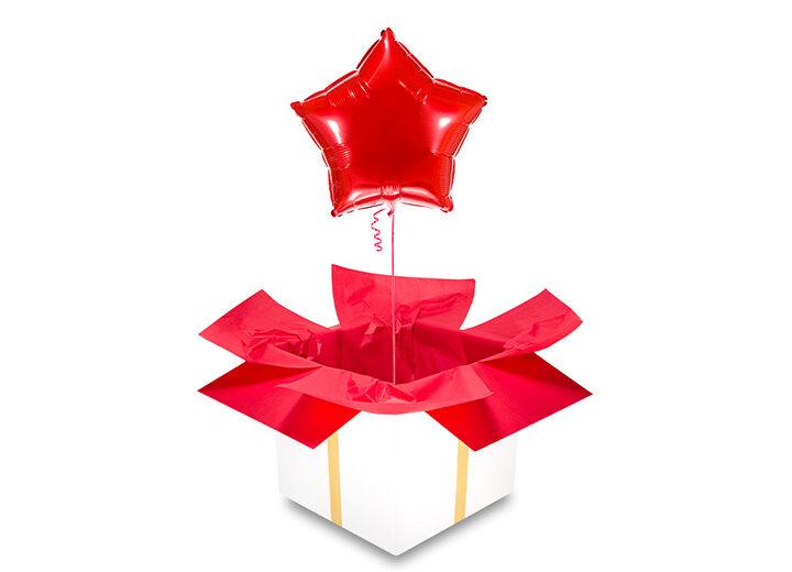 Balon czerwona gwiazda