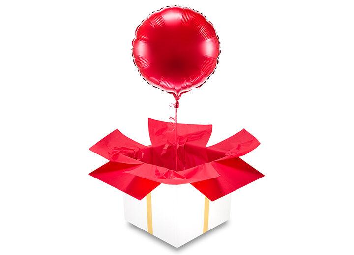 Balon foliowy czerwone koło