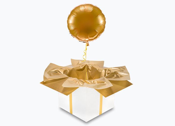 Balon foliowy złote koło