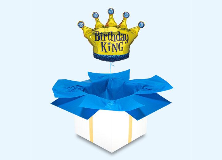 Birthday King król