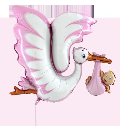 balony baby shower